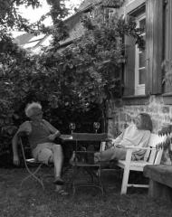 Entspannung am Abend, Barbara und Konrad im Herren
